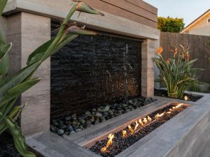 Water and Fire Feature